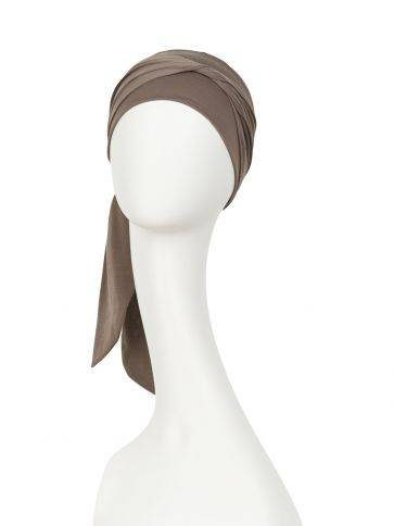 B.B. Beatrice turban with ribbons - Christine Headwear