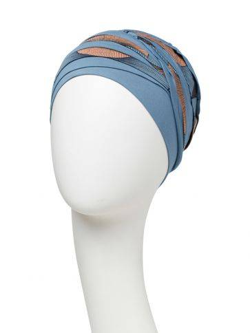 Shanti turban w/print Christine Headwear