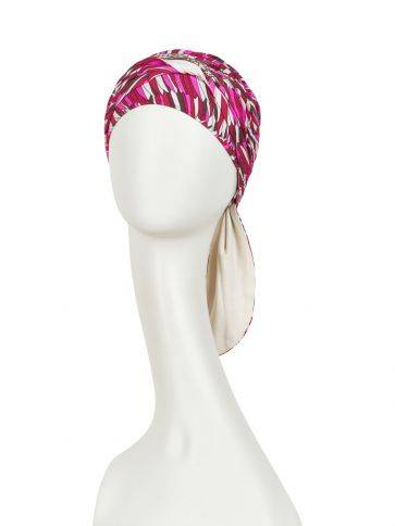 Beatrice turban with ribbons Shop brand