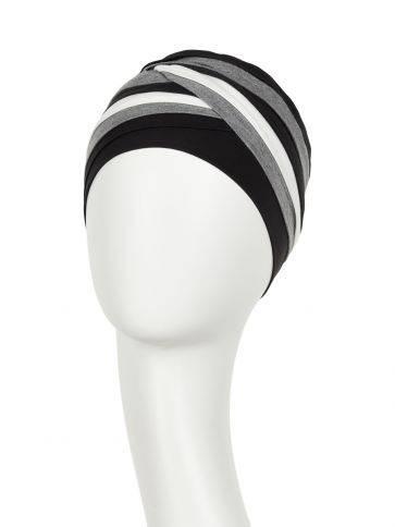 Shanti turban - Mixed colours Christine Headwear