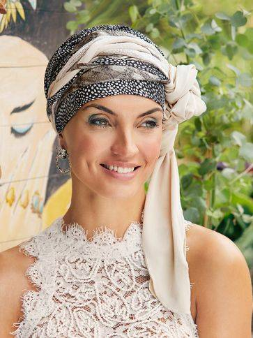 Sapphire Ribbon Boho Spirit Headwear